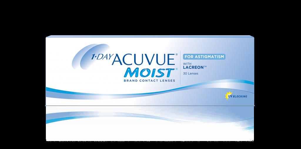 f816fba7a5395 Lentes de contacto 1-DAY ACUVUE® MOIST para Astigmatismo